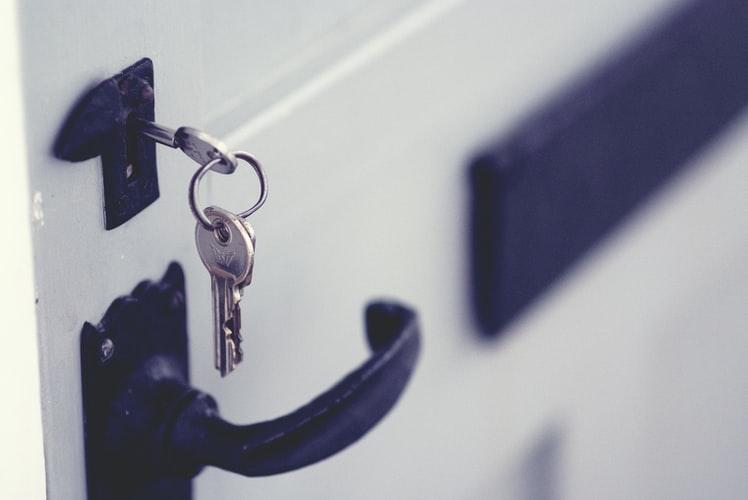 Hand sanitiser key ring