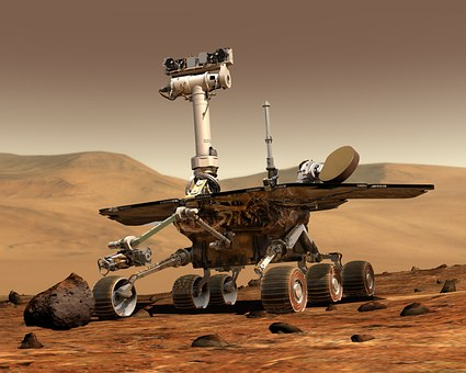 Mars Exploration Rover (MERS) that is the famous AI machine that drives around mars collecting data that feeds back to earth.