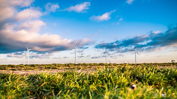 UK'S most well-known leading sustainable businesses wind mills